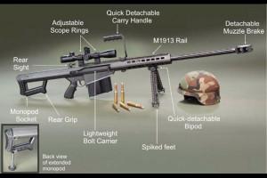 M82 Barrett rifle