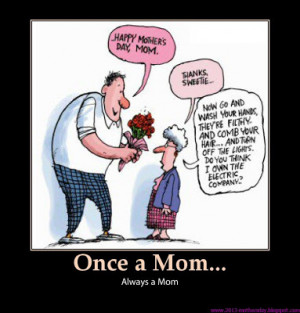 happy mother's day funny cartoon picture