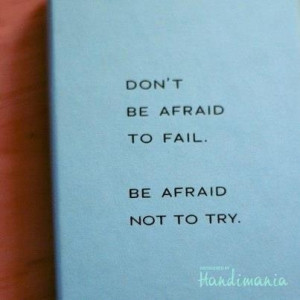 Just try..it is a sign