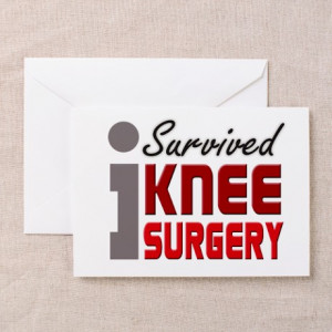 funny knee surgery