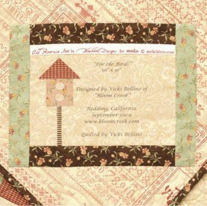 Ideas For Quilt Label Sayings