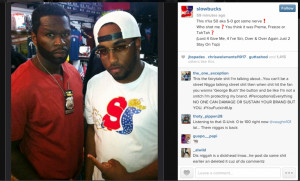 The 50 Cent and Slowbucks situation is still boiling with the two of ...