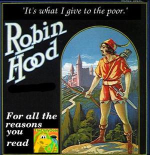 robin hood cartoon man funny curling sayings ted danson whoopi
