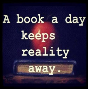 Love to curl up with a good book. ♥