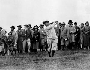 Photo of Gene Sarazen at Augusta