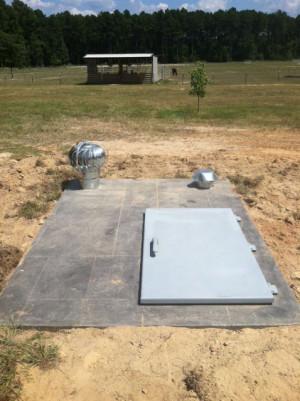Concrete Storm Shelters Arkansas