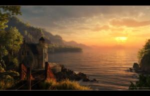 Romantic Sunset Angelicdevil
