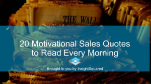 20 motivational business quotes to read every morning