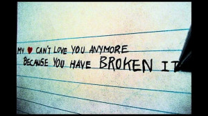 ... And Sayings: Depressed Quotes About Broken Heart And Falling In Love