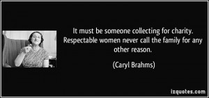 Respectable Women Quotes