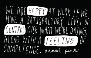 happy at work by daniel pink