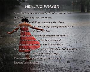 god 39 s healing power prayer