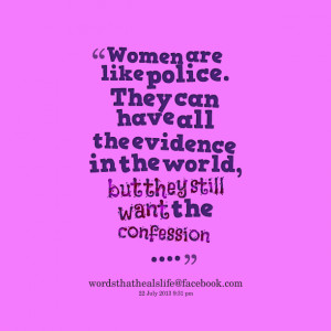 Police Woman Quotes