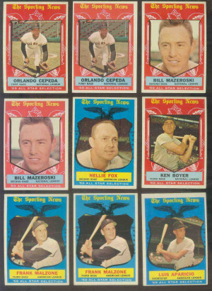 1959 Topps #553 Orlando Cepeda All-Star SCARCE HIGH #.(Giants ...