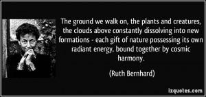 More Ruth Bernhard Quotes