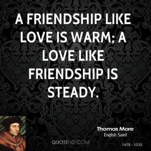 Thomas More Friendship Quotes