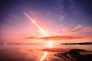 Here's a beautiful photo from the launch, taken on Sept. 6. at NASA's ...
