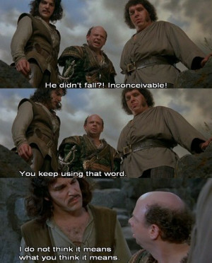 Best part in The Princess Bride