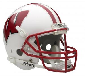 Wisconsin Badgers Schutt Full Size Replica Helmet