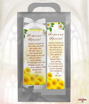 Inspiration Sayings - Someone Special - 9inch White Candle Product ...
