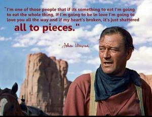 John Wayne says it best...