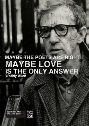 Love Woody Allen QUOTES