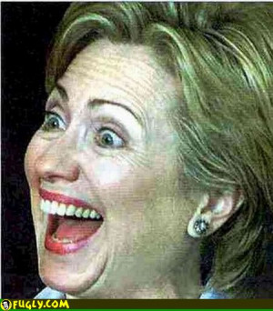 Hillary Clinton Scary Smile