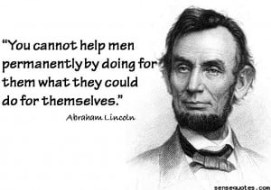 Abraham Lincoln wise quotes
