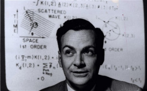 Richard Feynman, whose diagrams provided the first intuitive way of ...