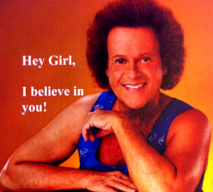 Richard Simmons Workout Clothes Picture