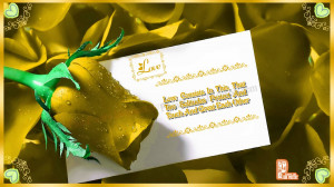 Love-Greetings-Quote-For-Friend-With-Yellow-Rose-Image-Photo-Wallpaper ...