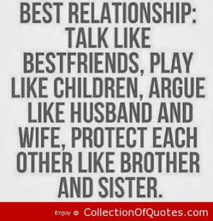 ... , protect each other like brother and sister. ~ Best Quotes & Sayings