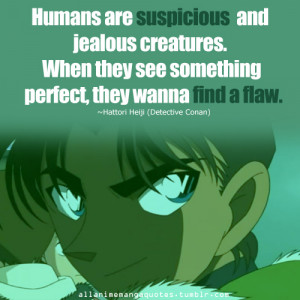 Favorite Detective Conan quotes