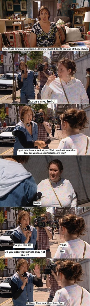 Miranda Hart Quotes Miranda hart's brilliant take on what not to wear ...