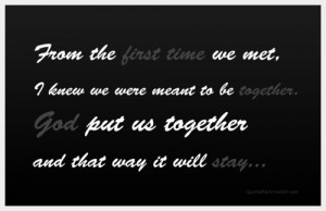 the first time we met quotes