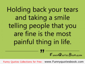 Famous quotes about Painful life