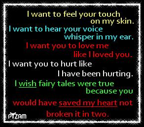 want i wish