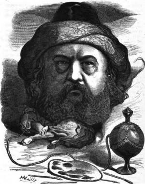 Théophile Gautier (1882) via ]