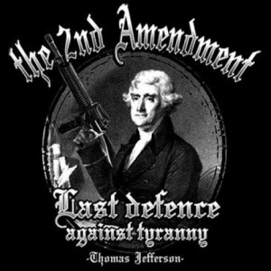 The 2nd Amendment - Last Defence Against Tyranny T-Shirt