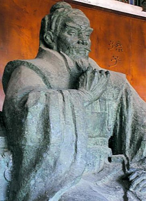 Sun Tzu Statue at his family residence