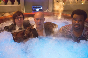 Jacob (Clark Duke), Lou (Nate Corddry) and Nick (Craig Robinson) in ...