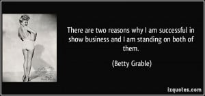 More Betty Grable Quotes