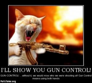 ll show you gun control gun control without it