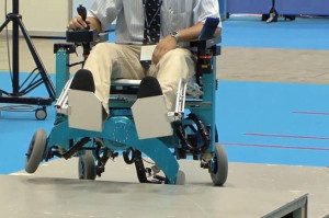 The Wheelchair That Can Climb Stairs