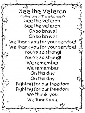 Best Free Printable Memorial Day 2015 Poems For Kids