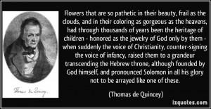 More Thomas de Quincey Quotes