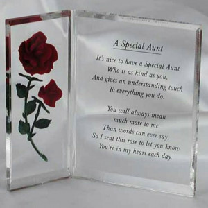 Special Aunt Poems Quotes Quotesgram