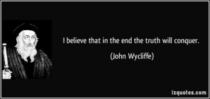 More John Wycliffe Quotes