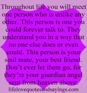 Guardian Angel Quotes For...