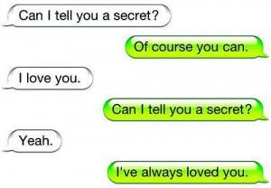 love you, love, quote, secret, text